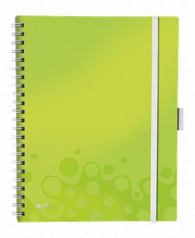 LETIZ Be Mobile Book WOW A4 Ruled 80g/80s **6-pack**  Green
