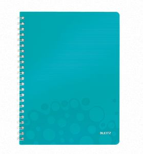 Notepad WOW PP A4 w/holes ruled 80sicebl