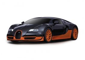 Bugatti GrandSportVitesse1 1:24 27MH 2Kanal weiß OUT/IN