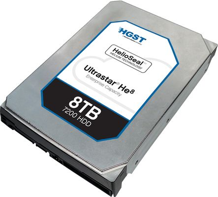ULTRASTAR HE8 8TB 3.5IN 25.4MM HUH728080ALE604 SATA 6