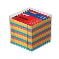 Zettelkasten tr. 9x9cm 650Bl farbig mit Deckblatt