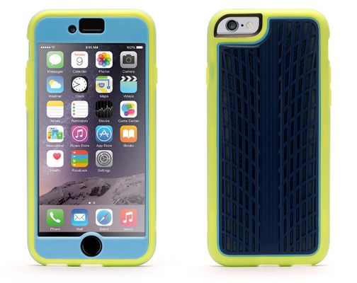 Griffin iPhone 6/6s Identity Traction Pistachio/ Light Blue