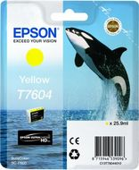 EPSON Ink Cart/ T7604 Yellow (C13T76044010)