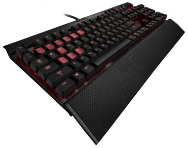 CORSAIR Gaming K70 Gaming Keyboard MX Blue - schwarz (CH-9000076-DE)