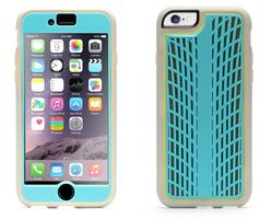 iPhone 6/6s Identity Traction Turquoise/ Grey