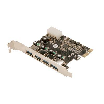 Con PCIe USB3.0 PC0057 4-Port