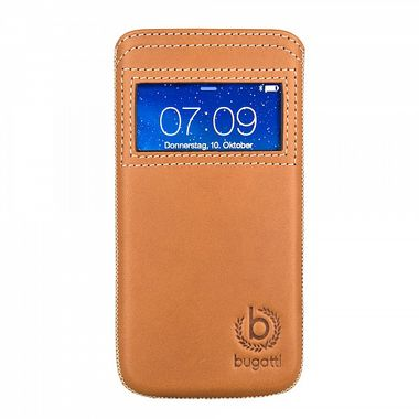 BUGATTI WATCH FOR APPLE IPHONE6 BROWN ACCS
