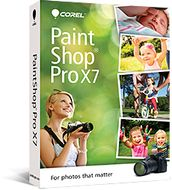PAINTSHOP PRO X7 MINI-BOX EN/ ES/ FR/ IT/ NL/ RU       IN CROM