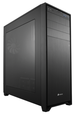 Obsidian 750D Big-Tower,  schwarz Window - gedämmt