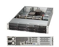 "SUPERMICRO 2U, 8x 3.5"""" Hot-swap drive"