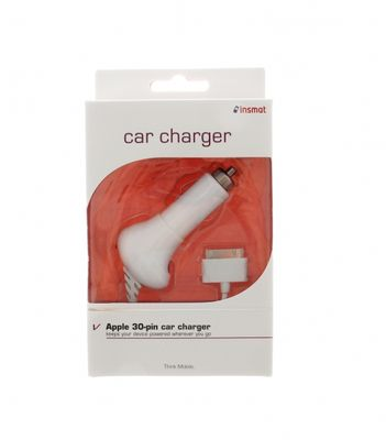 CarCharger iPhone 3G/3GS/4 White