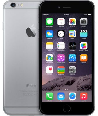 IPHONE 6 PLUS 16GB SPACE GREY (OLÅST)
