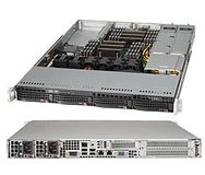 "SUPERMICRO 1U, 4x 3.5"""" Hot-swap drive"