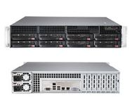 SUPERMICRO SuperServer,  2U  Black