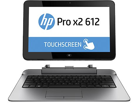 "Pro x2 612 G1 - Tablet - med tastaturdock - Core i3 4012Y / 1.5 GHz - Win 10 Pro 64-bit - 4 GB RAM - 128 GB SSD - 12.5"""" IPS touchscreen 1366 x 768"