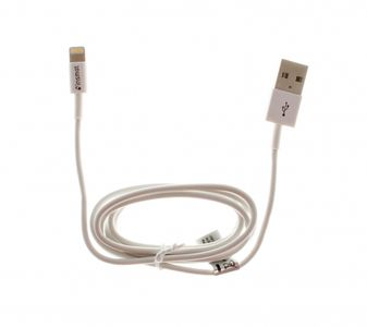 INSMAT iPhone 5 USB cable MFI White (133-9995)