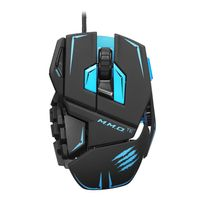M.M.O.TE Gaming Mouse PC, Matte Black