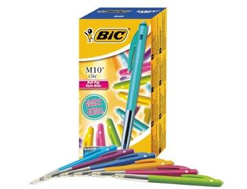 Kulpenna Bic M10 Clic ultra color