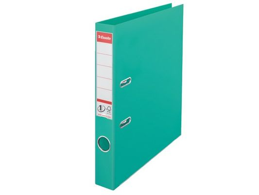 LEVER ARCH FILE ESSELTE A4 50MM LIGHT GREEN
