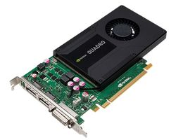QUADRO K2000 GPU CARD IN