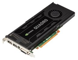 QUADRO K4000 GPU CARD IN