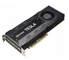 TESLA K40C ACTIVE HEATSINK GPU CARD IN
