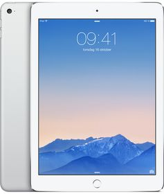 "iPad Air 2 9.7"" Cell 32GB Sølv Wi-Fi + Cellular, 9.7"" Retina Skjerm, 8MP/1.2MP kamera, iOS"