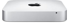 APPLE Mac mini Intel Dual-Core i5 2.8GHz, 8GB, 1TB Fusion Drive, HD Graphics (MGEQ2DH/A)