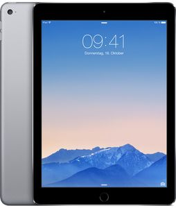 "APPLE iPad Air 2 9.7"" WiFi 32GB Grå Wi-Fi,  9.7"" Retina Skjerm, 8MP/1.2MP kamera, iOS (MNV22KN/A)"