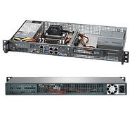 SUPERMICRO Super Server 1U Rack, Black