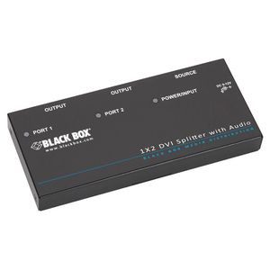BLACK BOX DVI-D Splitter (AVSP-DVI1X2)