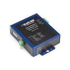 BLACK BOX Industrial Opto-Isolated Serial to Fiber Converter Factory Sealed (ICD114A)