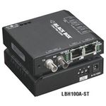 BLACK BOX DrX 10-100 Converter (2) 10/100 Mbps RJ-45 Factory Sealed (LBH100A-SSC)