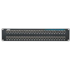 BLACK BOX CAT5e Feed-Through Patch Panels - 48 port shielded Factory Sealed (JPM806A-R2)
