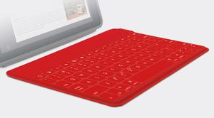 LOGI Keys-To-Go Portable KB iPad RED