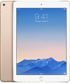 "iPad Air 2 9.7"" WiFi 32GB Gull Wi-Fi,  9.7"" Retina Skjerm, 8MP/1.2MP kamera, iOS"