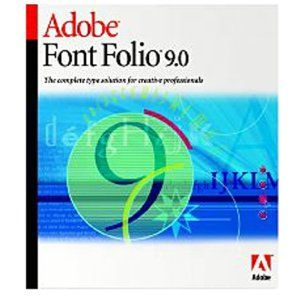 Font Folio - 9 - Multiple Platforms - International English - AOO License - BASE PROD - 20 USERS - 1+ - 0 Months
