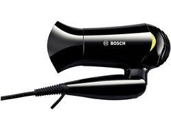 Style to Go hårfønerReisehårføner 1200W, temperatur regulering,  kompakt design, 1,8m ledning, sort