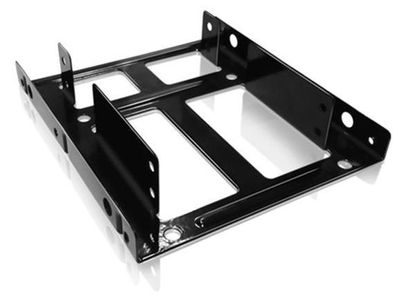 "RAIDSONIC ICY BOX IB-AC643 SSD & HDD Adapter 3.5"" Internal Mounting frame for 2x 2.5"" SSD/HDD in a 3.5"" Bay (70643 $DEL)"