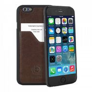 CLIPONCOVER LEATH.PREM FOR APPLE IPHONE6 BROWN ACCS