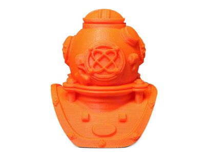MAKERBOT ABS - True Orange - Normal _1kg_ (MP01978)