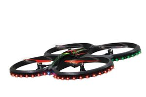 Quadrocopter Jam 4Kanal Flyscout 2,4 GHz Kompass/ LED