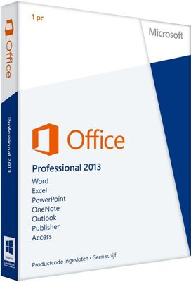 Microsoft Office Professional 2013 EMEA