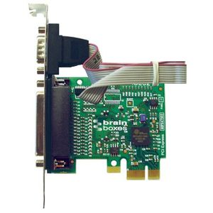 LENOVO Brainboxes PCIe 1 x LPT + 1 Serial Standard Height (0C33238)