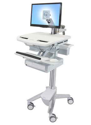STYLEVIEW CART WITH LCD ARM 1 DRAWER