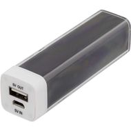 Powerbank,  2600mAh, USB 5V 1A,svart