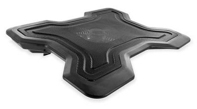 4World Notebook cooling pad for NB 13'' - 16'', 1 Fan, RPM adjustment (07631)