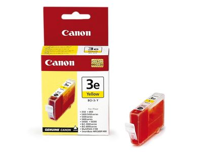 CANON BJ-535/ 3000/ 6000/ 6100/ 6200 Yellow Ink Tank (BCI-3Y)