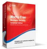 TREND MICRO Worry-Free Business Security v9.x, Advanced Bundle, Multi-Language: Renewal, Normal, 11-25 User License, 10 months CMSBWWM9YLIULR