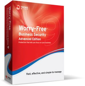TREND MICRO Worry-Free Business Security v9.x, Advanced Bundle, Multi-Language: Renewal, Government,  5-5 User License, 19 months CMSBWWM9YLIULR (CM00872374*5)